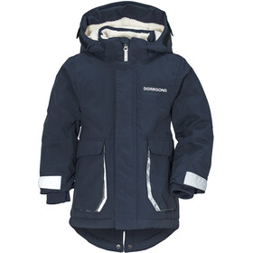 Didriksons 1913 Indre Parka Fille, navy